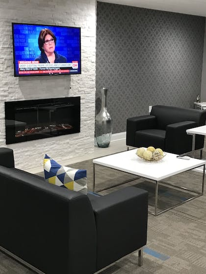 Living Area   Home Inn and Suites