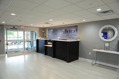 Reception   Home Inn and Suites