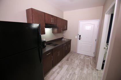 In-Room Kitchenette   Home Inn and Suites