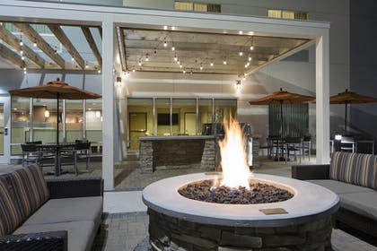 Terrace/Patio | TownePlace Suites by Marriott Austin Round Rock