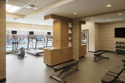 Fitness Studio | TownePlace Suites by Marriott Austin Round Rock