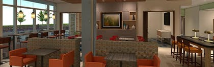 Breakfast Area | Holiday Inn Express & Suites-Dripping Springs - Austin Area