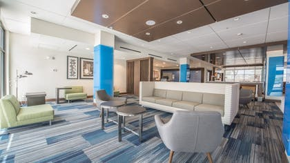 Lobby | Holiday Inn Express & Suites-Dripping Springs - Austin Area