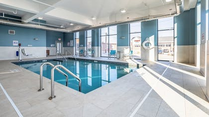 Pool | Holiday Inn Express and Suites-Platteville
