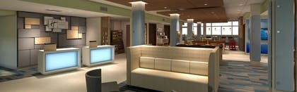 Lobby | Holiday Inn Express and Suites-Platteville