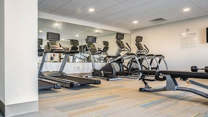 Fitness Facility | Holiday Inn Express and Suites-Platteville