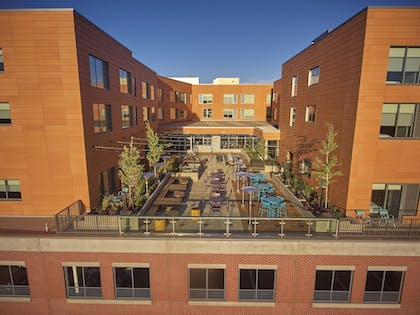 Terrace/Patio | Hyatt Place Eugene / Oakway Center