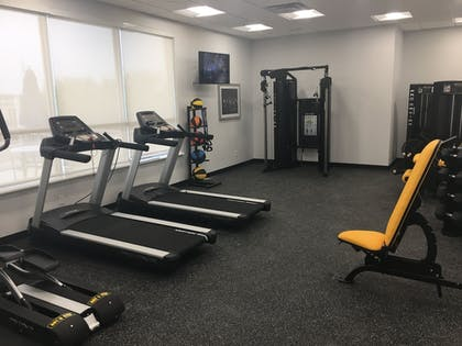 Fitness Facility | Best Western Plus Roland Inn & Suites