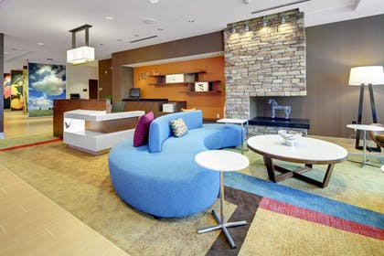 Lobby | Fairfield Inn & Suites by Marriott Asheville Tunnel Road