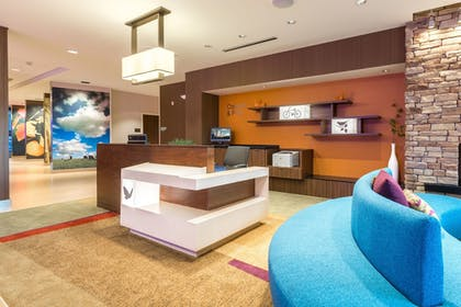 Reception | Fairfield Inn & Suites by Marriott Asheville Tunnel Road
