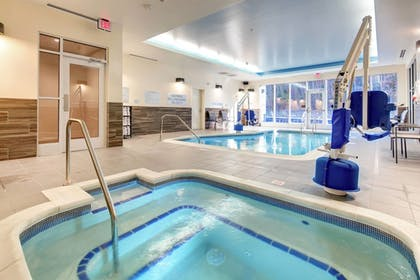 Indoor Spa Tub | Fairfield Inn & Suites by Marriott Asheville Tunnel Road