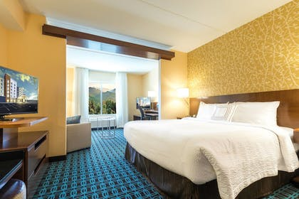 Room | Fairfield Inn & Suites by Marriott Asheville Tunnel Road