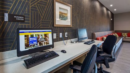 Business Center | Best Western Plus Houston I-45 North Inn & Suites
