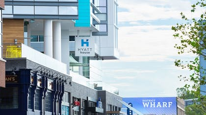 Hotel Front | Hyatt House Washington DC/The Wharf