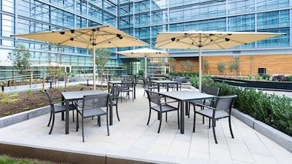 Courtyard | Hyatt House Washington DC/The Wharf