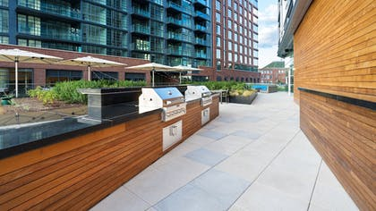 BBQ/Picnic Area | Hyatt House Washington DC/The Wharf