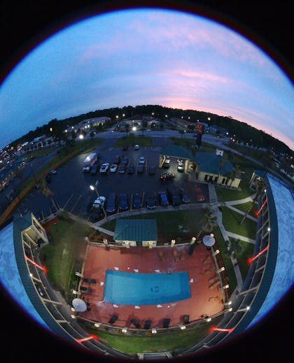 Aerial View | Econo Lodge Inn & Suites Hardeeville I-95