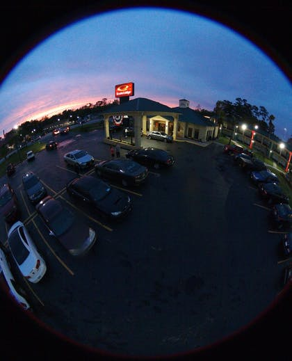 View from Hotel | Econo Lodge Inn & Suites Hardeeville I-95