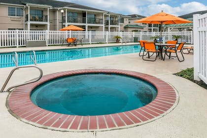 Outdoor Spa Tub |  | Richmond Inn & Suites Trademark Collection by Wyndham