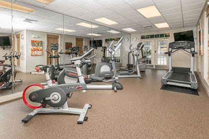 Fitness Facility |  | Richmond Inn & Suites Trademark Collection by Wyndham