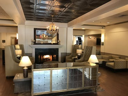 Lobby Lounge |  | Richmond Inn & Suites Trademark Collection by Wyndham