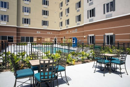 Outdoor Pool | Candlewood Suites Miami Exec Airport - Kendall