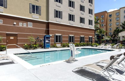 Pool   Candlewood Suites Miami Exec Airport - Kendall