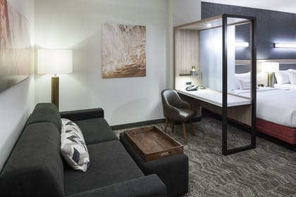 Living Area | SpringHill Suites by Marriott Clearwater Beach