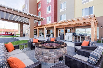 Terrace/Patio | TownePlace Suites by Marriott Cleveland