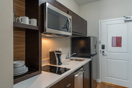 In-Room Kitchen | TownePlace Suites by Marriott Dallas Mesquite
