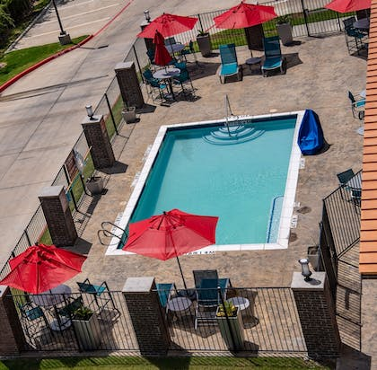Outdoor Pool | TownePlace Suites by Marriott Dallas Mesquite
