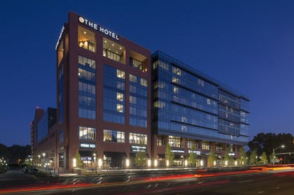 Hotel Front - Evening/Night | The Hotel at the University of Maryland