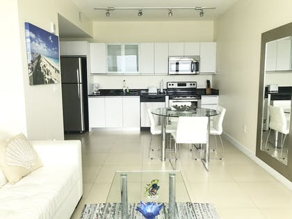 In-Room Kitchen | Suite Life Miami at The Monte Carlo