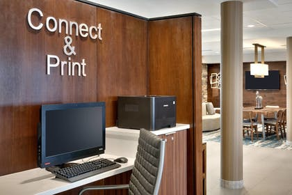 Business Center | Fairfield Inn & Suites by Marriott Springfield North