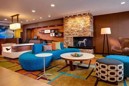 Lobby | Fairfield Inn & Suites by Marriott Santa Fe