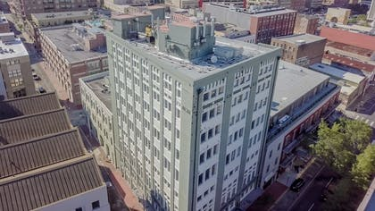 Aerial View | The Mercantile Hotel New Orleans