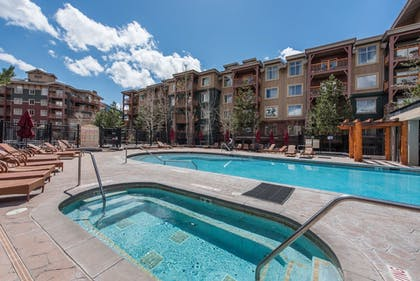 Outdoor Spa Tub | Canyons Village Condos by All Seasons Resort Lodging