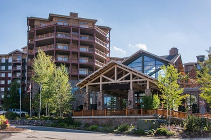 Hotel Front | Canyons Village Condos by All Seasons Resort Lodging