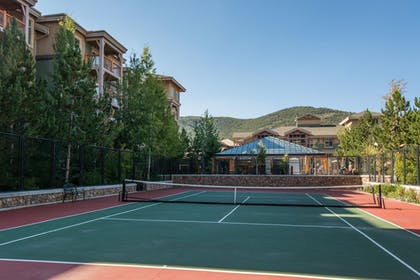 Tennis Court | Canyons Village Condos by All Seasons Resort Lodging