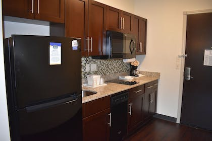 In-Room Kitchen | MainStay Suites Moab near Arches National Park