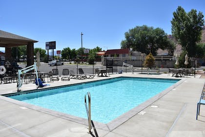 Outdoor Pool | MainStay Suites Moab near Arches National Park