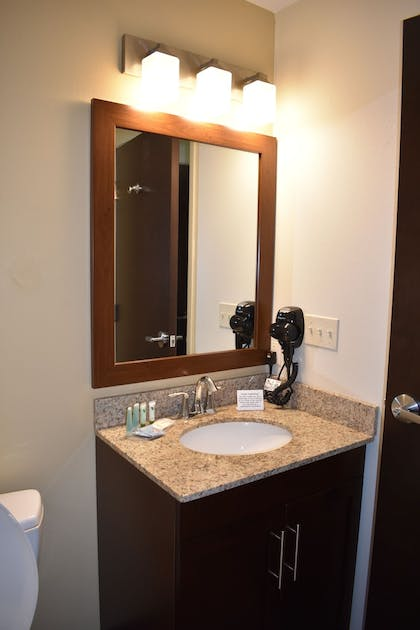 Bathroom Sink | MainStay Suites Moab near Arches National Park