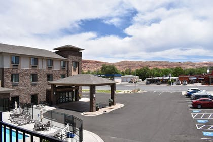 View from Hotel | MainStay Suites Moab near Arches National Park