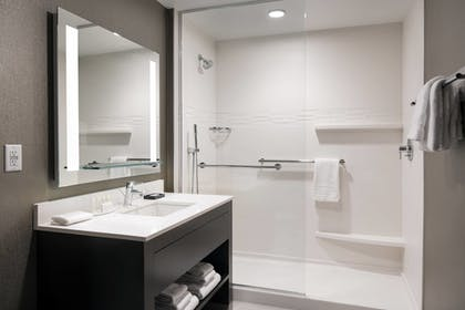 Bathroom | Residence Inn by Marriott Seattle Downtown/Convention Center