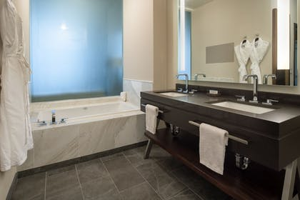 Deep Soaking Bathtub | Embassy Suites by Hilton Seattle Downtown Pioneer Square