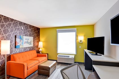 Living Area | Home2 Suites by Hilton Green Bay