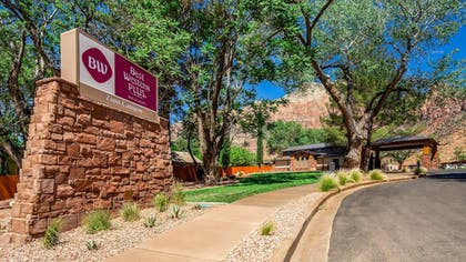 View from Hotel | Best Western Plus Zion Canyon Inn & Suites