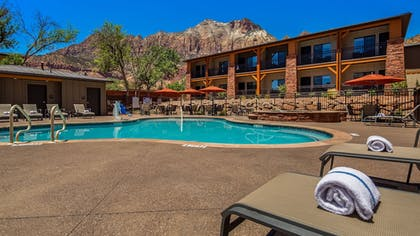 Outdoor Pool | Best Western Plus Zion Canyon Inn & Suites