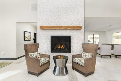 Fireplace | Best Western Plus Zion Canyon Inn & Suites