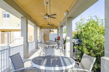 Terrace/Patio | Candlewood Suites Miami Intl Airport-36th St